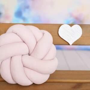poduszki poduszka-węzeł ręcznie pleciona dekoracyjna