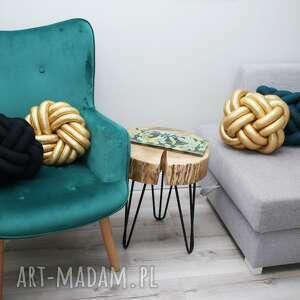 poduszki styl skandynawski ręcznie pleciona dekoracyjna