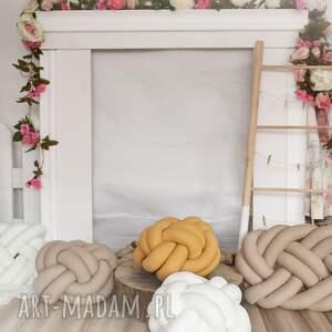 trendy poduszki knotpillow ręcznie pleciona dekoracyjna
