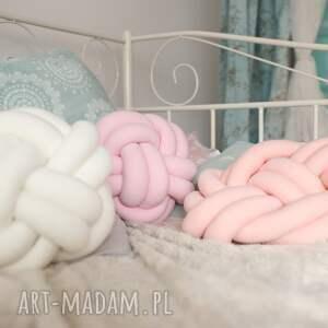 poduszki supły ręcznie pleciona dekoracyjna