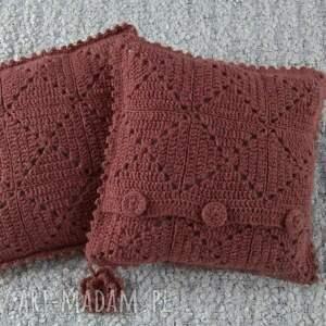 hand made poduszki rękodzieło robione ręcznie wełna