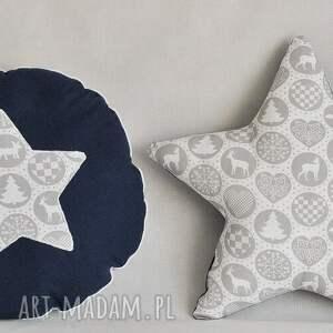 pomysł na prezent święta %wiąteczna poduszka gwiazdka
