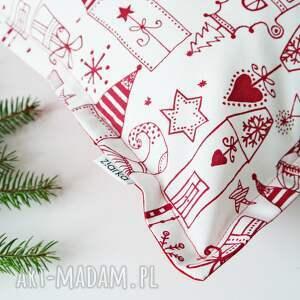 prezent pod choinkę świąteczne malunki
