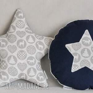 pomysł na święta prezent okrągła poduszka świąteczna