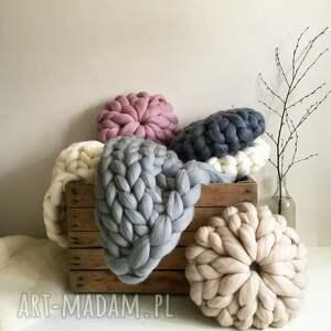 hand-made poduszki poduszka wełniana 100% wełna