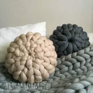 handmade poduszki poduszka wełniana 100% wełna