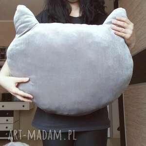 pokoik dziecka główka aksamitna poduszka kocia