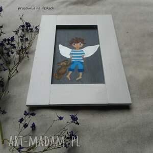 niekonwencjonalne pokoik dziecka anioł stróz chłopiec