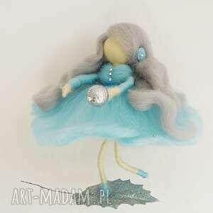 urokliwe pokoik dziecka mobil błękitna wróżka tańcząca na list