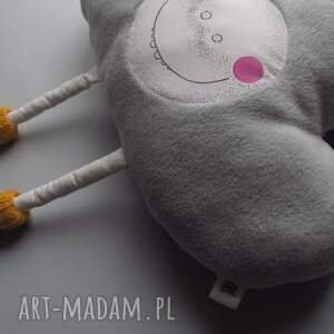 chmurka pokoik dziecka różowe poduszka z serii fluffy