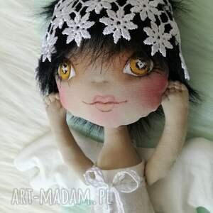 handmade pokoik dziecka unikat dekoracja tekstylna aniolek