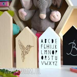 białe pokoik dziecka domek domki drewniane