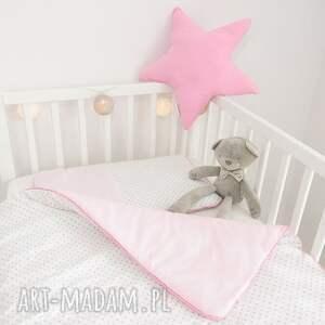 pokoik dziecka pokójdziewczynki duża poduszka gwiazdka różowa