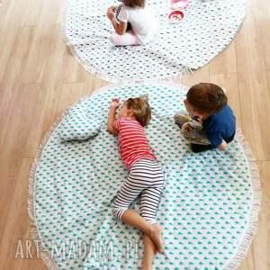 pokój pokoik dziecka dwustronna mata koc dywanik fik 150