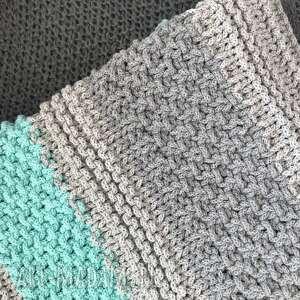 pokoik dziecka dywanmieta dywan mint bawełniany 70x160cm