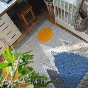 atrakcyjne pokoik dziecka góry dywan wierchy małego zdobywcy