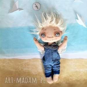 handmade pokoik dziecka chłopiec e piet aniołek - dekoracja ścienna