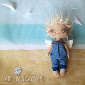 chłopiec pokoik dziecka e piet aniołek - dekoracja ścienna