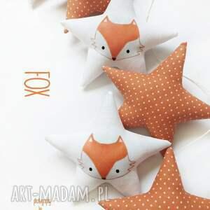 eleganckie pokoik dziecka girlanda fox