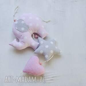 ręcznie wykonane pokoik dziecka girlanda słonik z