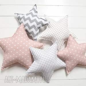 ręcznie wykonane pokoik dziecka poduszka gwiazdka