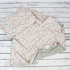 eleganckie pokoik dziecka jednorożec jednorożce poszewka na pościel dla