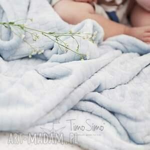 ciekawe pokoik dziecka minky koc floppy (szary, duży)