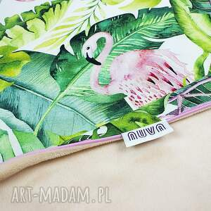 NuvaArt Kocyk 75x100 flamingi - wyprawka