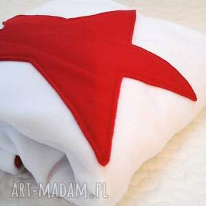 czerwone pokoik dziecka gwiazda kocyk koc - s (70x90) gwiazdka