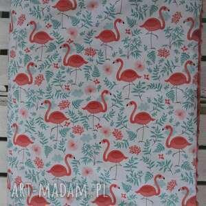 pokoik dziecka minky kocyk flamingi