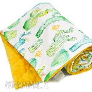 pokoik dziecka kocyk pikowany velvet cotton slim