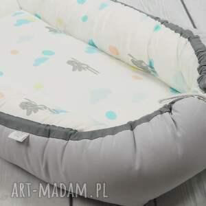 betulli pokoik dziecka kokon dla noworodka dla niemowlaka - królik