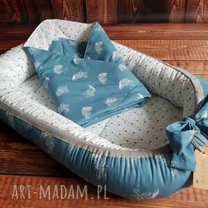 ręcznie wykonane pokoik dziecka kokon niemowlęcy z kołderką