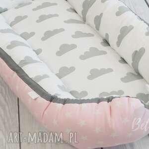 ręcznie zrobione pokoik dziecka kokon niemowlęcy leżaczek otulacz