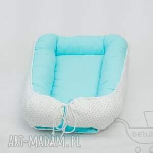 białe pokoik dziecka otulacz kokon niemowlęcy pikowany