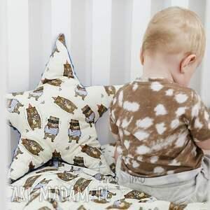 efektowne pokoik dziecka minky kołderka wesołe zwierzaki