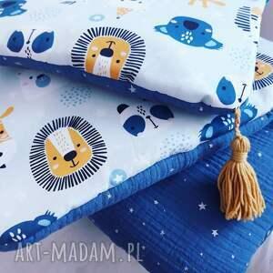 ręcznie zrobione pokoik dziecka pościel komplet do łóżeczka bawełna premium