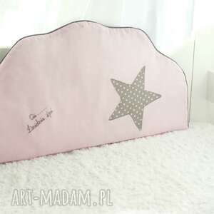 białe pokoik dziecka chmurka komplet ochraniaczy do łóżeczka