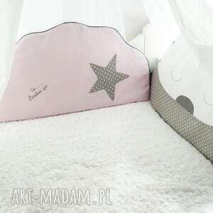 hand made pokoik dziecka łóżeczko komplet ochraniaczy do łóżeczka