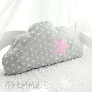 pokoik dziecka łóżeczko ochraniacz - zestaw chmurka, sowa i samochodzik