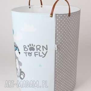 pojemnik pokoik dziecka turkusowe komplet pojemników born to fly