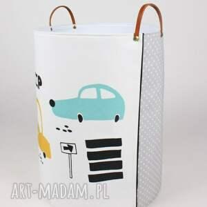 białe pokoik dziecka pojemnik komplet pojemników z autami