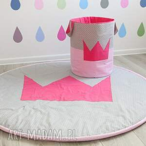 hand-made pokoik dziecka małaksiężniczka kosz na zabawki princessa
