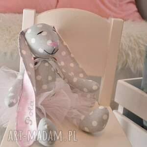 gustowne pokoik dziecka baletnica króliczek