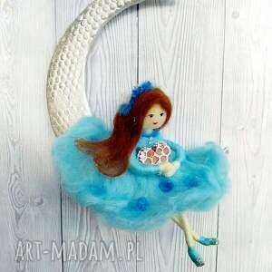 lalka pokoik dziecka turkusowe laleczka klara-księżycowa wróżka