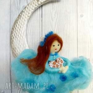 brązowe pokoik dziecka lalka laleczka klara-księżycowa wróżka