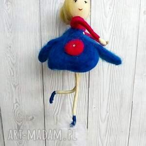 żółte pokoik dziecka lalka laleczka oliwia - balerina tańczaca