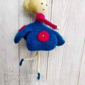 lalka pokoik dziecka czerwone laleczka oliwia - balerina tańczaca