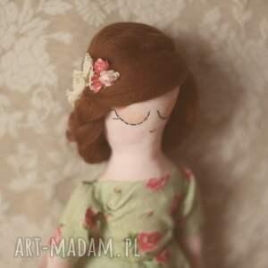 różowe pokoik dziecka kwiatowa bajka - lalka helenka
