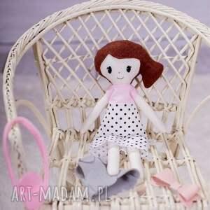 nietuzinkowe pokoik dziecka bawełna lalka szmaciana mia